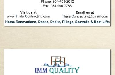 Thaler Contracting Inc - Cooper city, FL