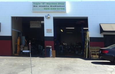 Triple S Machine Shop - Concord, CA