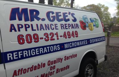 Mr Gee S Appliance Repair Service Egg Harbor Twp Egg Harbor Township Nj 08234 Yp Com