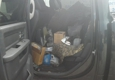Bayonet Point Engine - Hudson, FL. Engine parts loaded on my rear seats