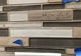 Michigan's Handyman Services - Hazel Park, MI. No spacers used between mosaic tile sheets.