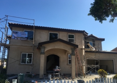 Ram Building Remodeling Inc - Los Angeles, CA. Stucco complete in second floor addition in Gardena ca,