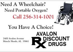 AVALON DISCOUNT DRUG - Muscle Shoals, AL