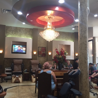 Upscale Spa & Nail - Granbury, TX. Incredible atmosphere!! It's beautiful and relaxing!!