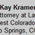 Kramer Mary Kay Attorney