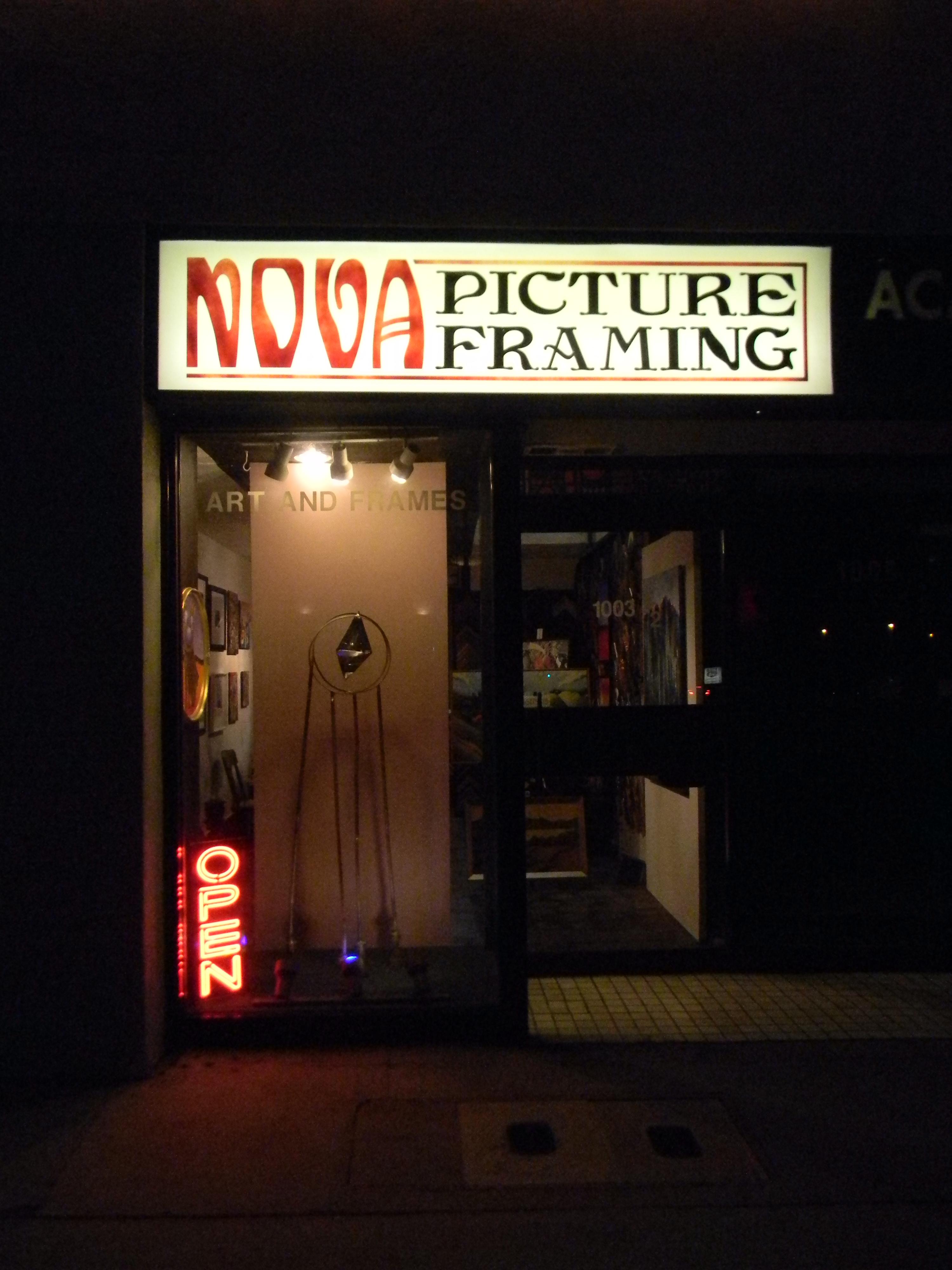 Nova Picture Framing and Gallery 1003 1/2 E Colorado Blvd, Pasadena ...