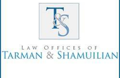 The Law Offices of Tarman  & Shamuilian - Rancho Cucamonga, CA