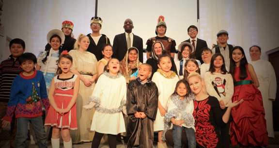 First Southern Baptist Church of Hollywood - Los Angeles, CA. Christmas play 2016 crew.