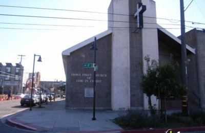 Zion First Church of God In Christ - Oakland, CA