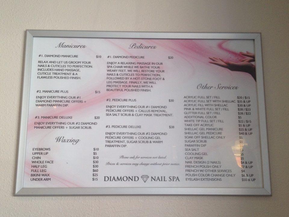 Diamond Nail Spa 3848 Mchenry Ave Ste 330, Modesto, CA 95356 - YP.com