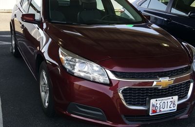 Enterprise Rent-A-Car - Philadelphia, PA. We were able to pick from several cars an upgrade.
