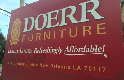Doerr Furniture Inc 914 Elysian Fields Ave New Orleans La 70117