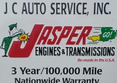 J C AUTO SERVICE INC - Royersford, PA