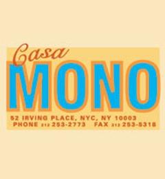 Casa Mono - New York, NY