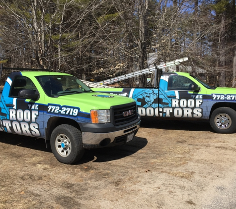 The Roof Doctors - Hollis Center, ME. Call or Text us 24/7