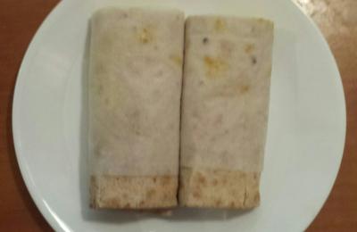 The Vegan Joint - Los Angeles, CA. Breakfast Burrito #1