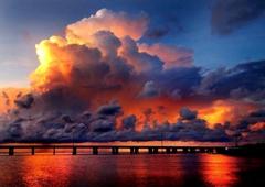 Gemini Dream Charters - Marathon, FL. Great Keys Sunset