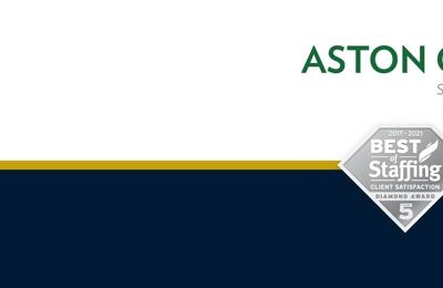 Aston Carter - Boston, MA