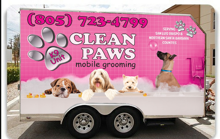 Clean paws k9 unit mobile grooming nipomo ca 93444 yp solutioingenieria Gallery