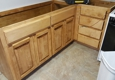 Cadiere Construction LLC - Houma, LA. Cabinets, tile flooring