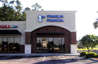 1st Franklin Financial 315 N Beltline Dr Ste G, Florence, SC