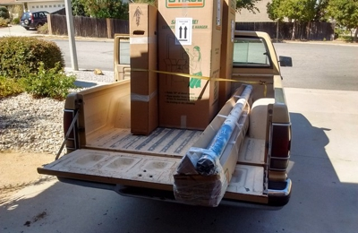 YRC Freight - Sun Valley, CA. Santos palletized this load for me.
