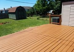 Odd Jobs Fencing & Handyman Services - Lexington, KY. Deck resurfacing