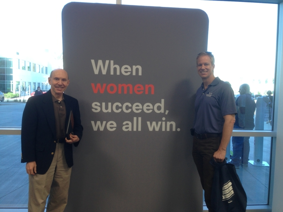 TLC Computer Solutions - North Las Vegas, NV. This sign says it all. TLC's Rich Sullivan and John Sinchak at the Las Vegas Facebook forum.