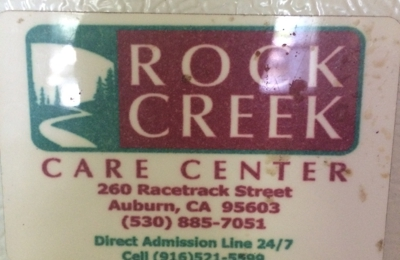 Rock Creek Care Center - Auburn, CA