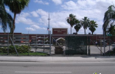 Anchor Fence Wholesale Of Miami 3670 NW 79th St, Miami, FL