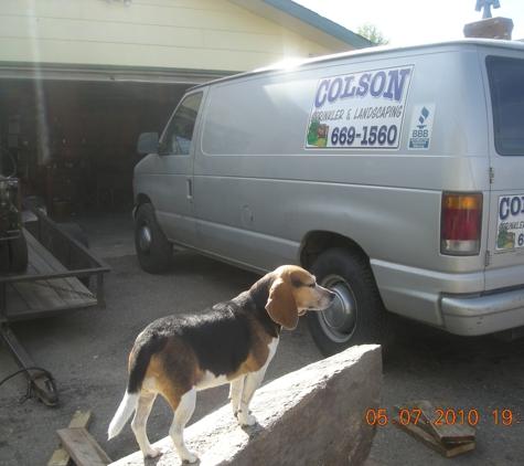 Colson Sprinkler & Landscaping Inc