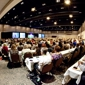 St Charles Convention Center - Saint Charles, MO. Exhibit Hall with classroom setting.