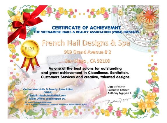 French Nail Designs & Spa - San Diego, CA