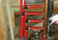 Stone Creek Plumbing Service Inc. - Oklahoma City, OK. manifold pipe in our wall