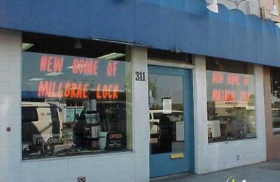 Millbrae Lock - Millbrae, CA