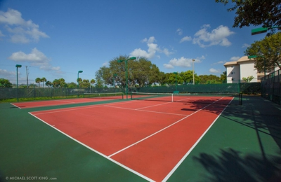 Jacaranda Village Apts - Plantation, FL. Tennis Courts