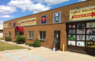 Back To The Past Comics and Pop Culture Warehouse - Redford, MI