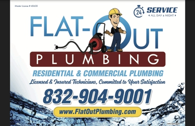 Flat-Out Plumbing - Universal City, TX