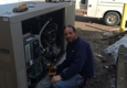 Accurate Electrical Contractors. Generator install.