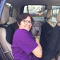 The Pet House Clinic - Miami Beach, FL. Elisa, saying goood bye to our rescue Pei pei, who went to a loving home.  Elisa, was EB's girlfriend for a few weeks.