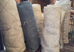 Nilipour Oriental Rugs - Birmingham, AL. We didn't have enough so we had more beauties shipped in! ;-)   With ten days until Christmas, there is still time to warm your floors!