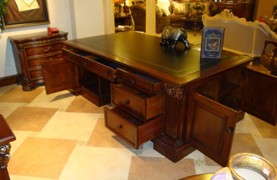 MBW Furniture, Inc.   Atlanta, GA. Orleans International Cherry Mahogany 2  Pc