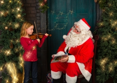 Walcott Studio - Columbus, WI. Where can my child be photographed with Santa? Portraits with St. Nick at Walcott Studio in Columbus, Wisconsin.