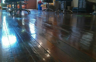 Essie b's commercial & residential cleaning - Allentown, PA. Hand wax floor