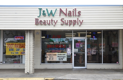 J & W Nails & Beauty Supply - Kailua, HI
