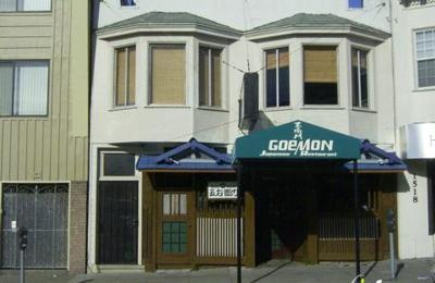 Goemon Japanese Restaurant - San Francisco, CA