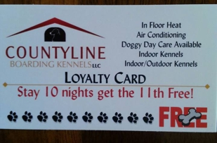 Take advantage of our Loyalty Card!!