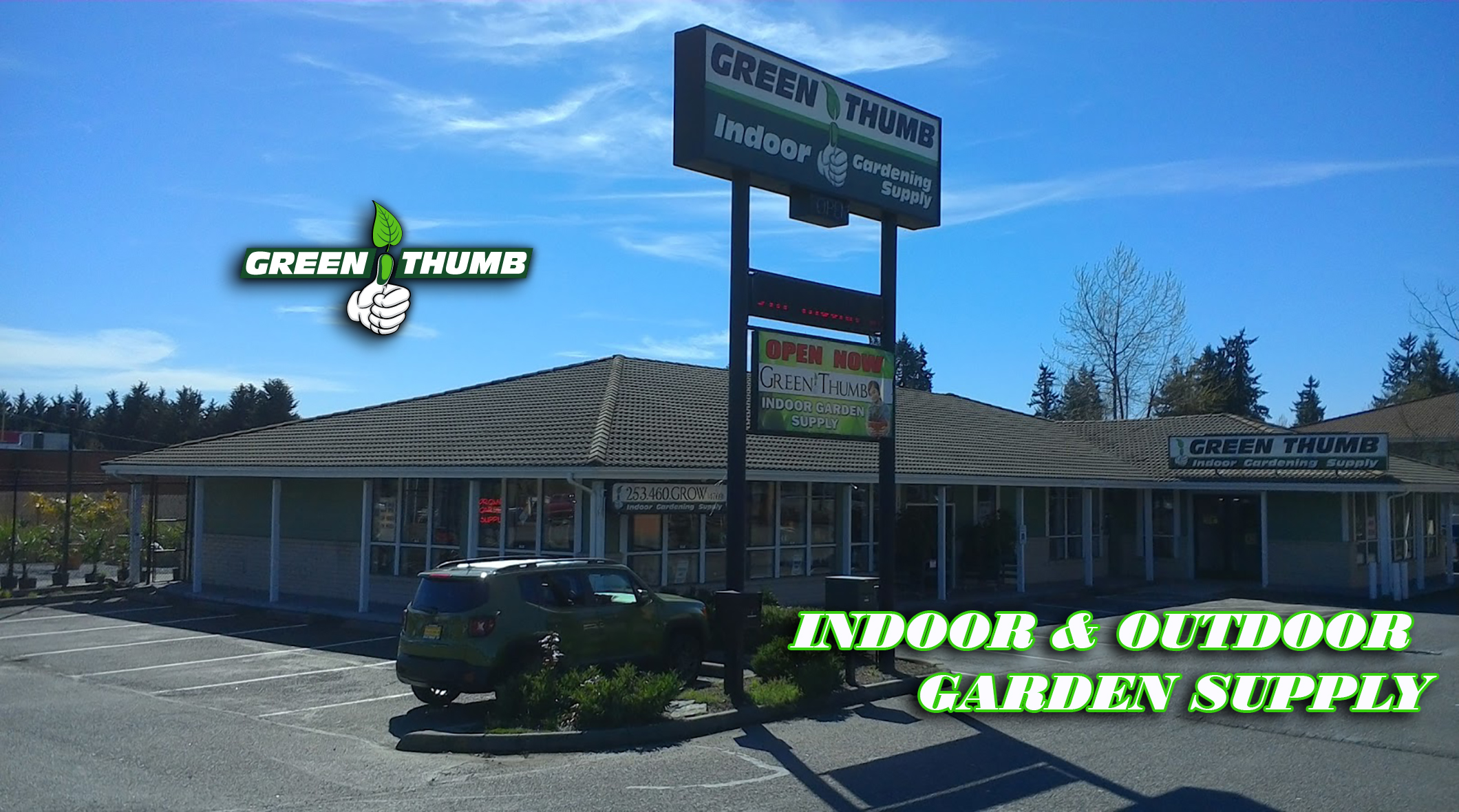 Exceptionnel Green Thumb Indoor Garden Supply 10120 128th Street Ct E, Puyallup, WA  98373   YP.com