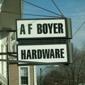 A.F. Boyer Hardware & Guns - Slatington, PA