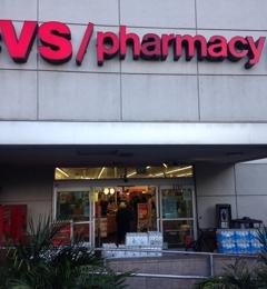 CVS Pharmacy - Los Angeles, CA. Rear entrance